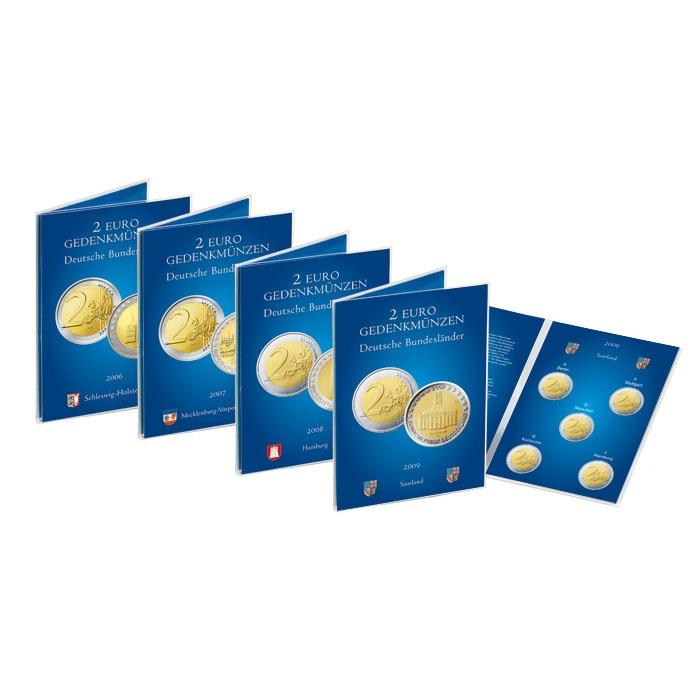 Mescide Sammlerzubehör Münzkarte Für 2 Euro Münzen Brd