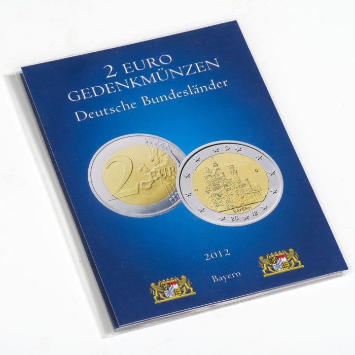 Mescide Sammlerzubehör Münzkarte Für 2 Euro Münzen Brd Bayern