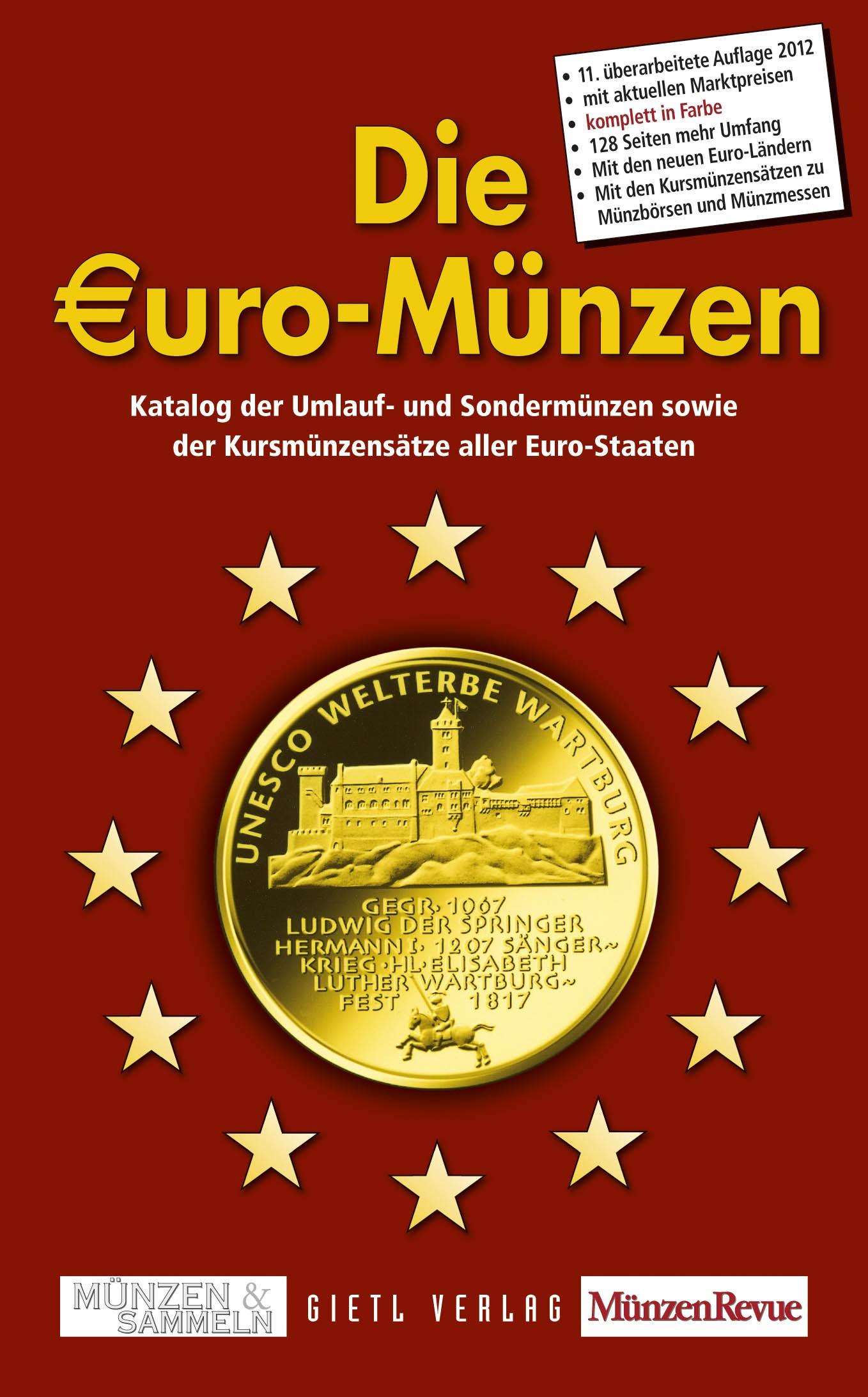 Mescide Sammlerzubehör Die Euro Münzen 2012 In Farbe